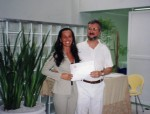 Marisa Cardoso Trielli e Prof. Dr. Frederic Viñas